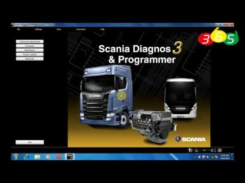 Scania SDP3 2.35 Diagnosis /& Programming for VCI 3 VCI3