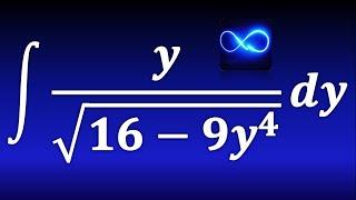 237. Integral de división con raíz cuadrada (formula de arc sen)