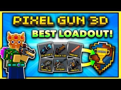 USE THESE GUNS IF YOU PLAY PIXEL GUN 3D!! (PG3D Best Loadout)