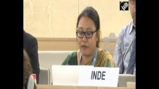 India News - India slams Pakistan at UNHRC for sponsoring terrorism in Jammu and Kashmir