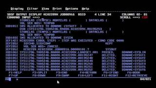 Basics of Running COBOL / JCL and Checking Output on IBM Mainframe