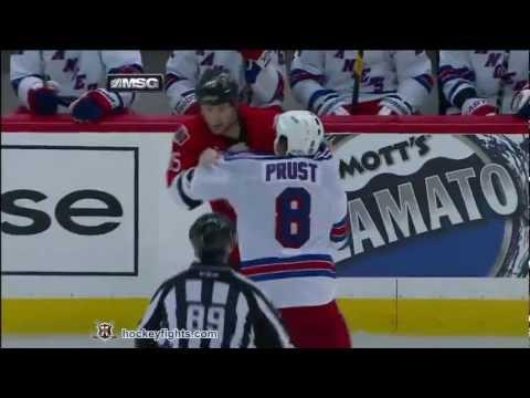 Brandon Prust vs Zack Smith Mar 8, 2012