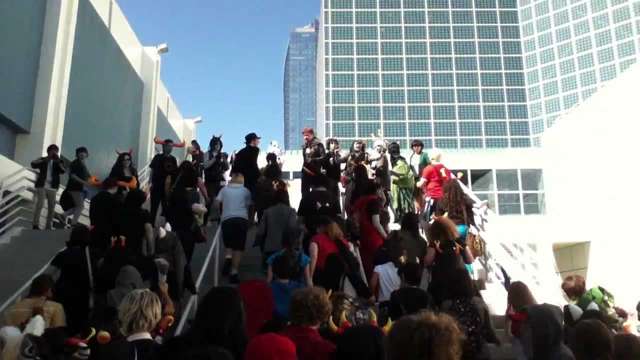 HUGE Homestuck Gathering Anime Expo 2012