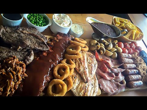 The UKs BIGGEST Mixed Grill @ The George, Stockton On Tees