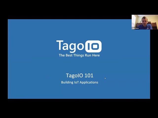 TagoIO Platform 101 - Building IoT Applications