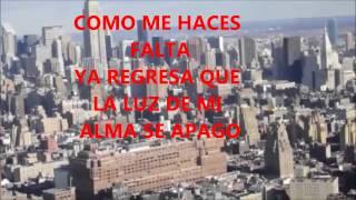 Tierrra Cali Y Los Barreras Del Norte. COMO ME HACES FALTA. Letras.
