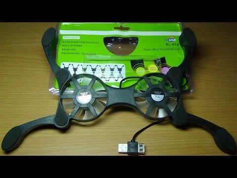 видео: Охлаждающая подставка для ноутбука-осьминог с aliexpress за 4$.