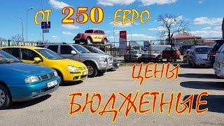 Авто по бюджетным ценам. Автомобили от 250 евро.