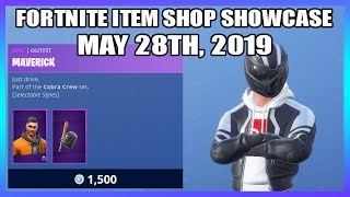 *NEW* STYLES FOR MAVERICK & SHADE SKINS! (Fortnite Item Shop 28th May)