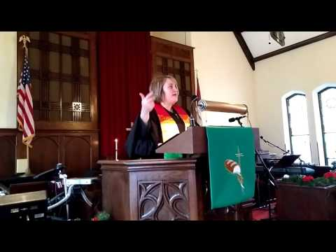 """Sharan's Sermon """"Living Into Your Role"""" (1/15/17)"""