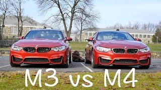 Bmw f80 m3 vs f82 m4 comparison and exhaust tone update