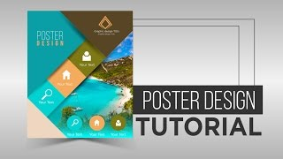 Poster Design Tutorial by using Illustrator