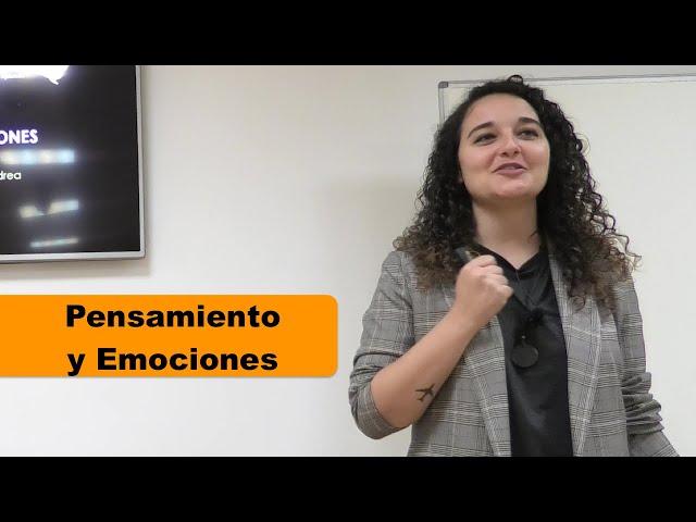 Conferencia sobre Pensamiento y Emociones. Imparte la psicóloga Andrea Mezquida