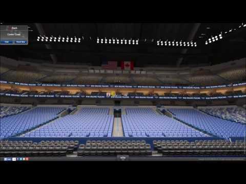 VirtualStadiumTour (NBA) - Smoothie King Center (New Orleans Pelicans)