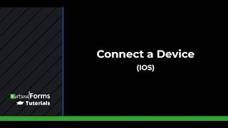 Connect Device (IOS)