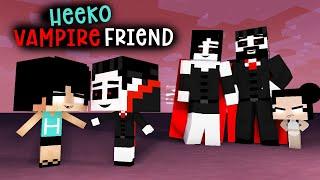HEEKO AND HIS CUTE VAMPIRE FRIEND - MONSTER SCHOOL - MINECRAFT