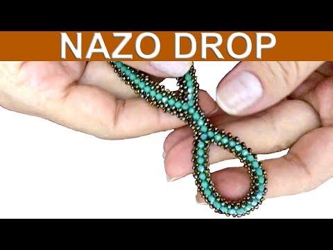 Nazo örgü Kullanarak Nazo Damla Nasıl Yapılır -Full- (How To Make Nazo Drops Using Nazo Weaving)