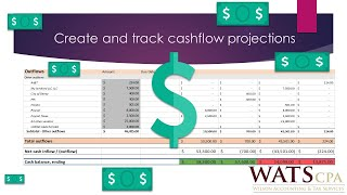 Create and Track Cash-flow Projections