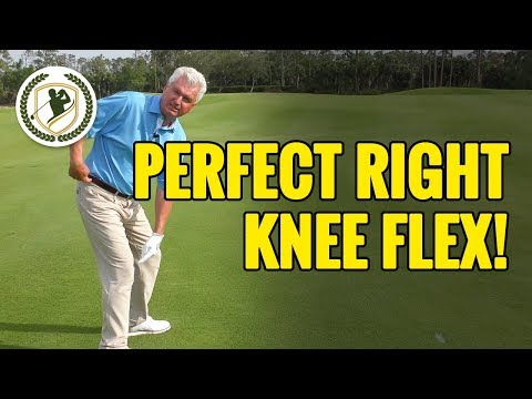 THE PERFECT RIGHT KNEE FLEX IN YOUR GOLF SWING