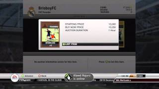 How to make free Coins on Fifa 12 Ultimate Team XBOX360,PS3 Tutorial (HD)(New Tutorial on fifa 12 UT This is easy to do i made around 100k in a day so if you have the time to do this for most of the day u will have a beast team., 2011-10-03T01:04:00.000Z)