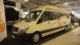 Mercedes Sprinter camper van conversion : Balcamp SP720