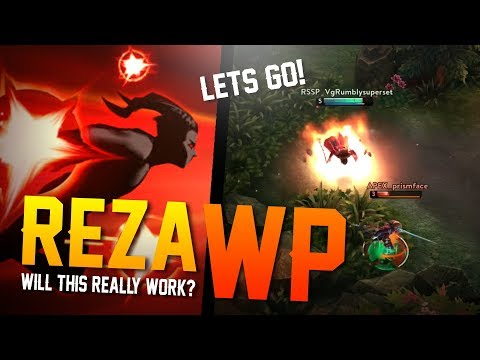 Vainglory - Breaking the Meta: WILL IT WORK!? Reza |WP| Jungle Gameplay [Update 2.7]