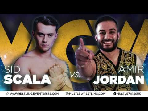 FULL MATCH - Sid Scala vs. Amir Jordan - Hustle Wrestling: Feb 8th, 2020