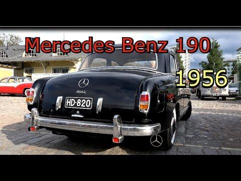 1956 Mercedes Benz 190- Old Classic car