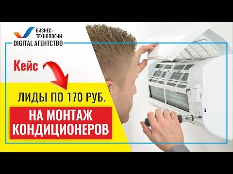 Обзор кейса: Лендинг Продажа и монтаж кондиционеров + Яндекс Директ. Лиды по 170 руб.