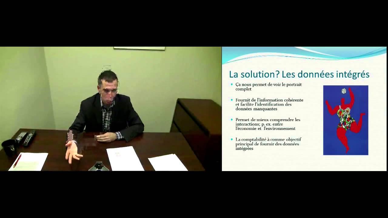 Robert Smith - La comptabilité environnementale, information intégrée pour la prise de décision