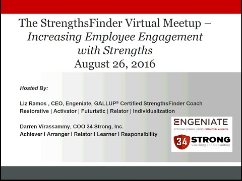 Increasing Employee Engagement with Strengths - YouTube