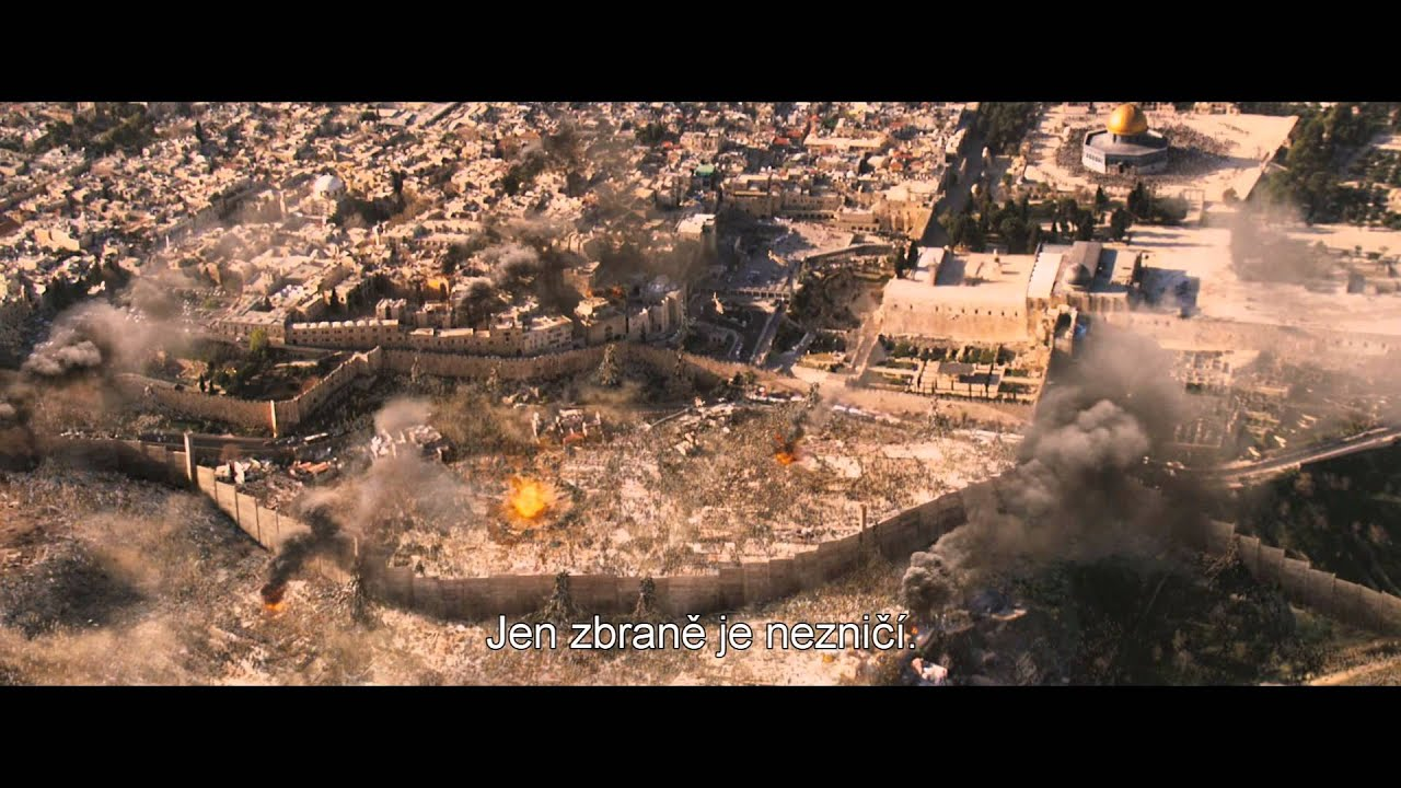 Svetová vojna Z [World War Z] trailer CZ