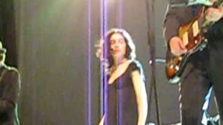 PJ Harvey dances to The Crow Knows Where All The Little Children Go live in Milan 4th May 2009