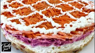 Салат По-Домашнему с Корейской Морковью + Рецепт Моркови по-Корейски