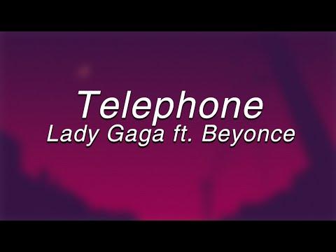 Lady Gaga - Telephone ft. Beyoncé(Lyrics)