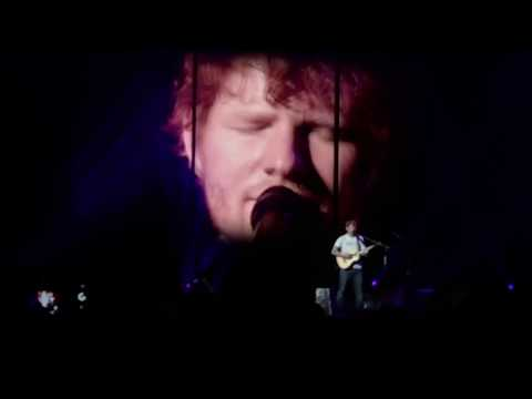 Ed Sheeran tour performing live on 8/22/17 in San Antonio Te