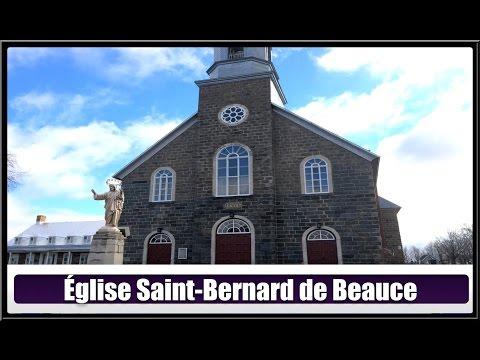 Église De St-Bernard En Beauce(Hier@ Aujourd`hui)