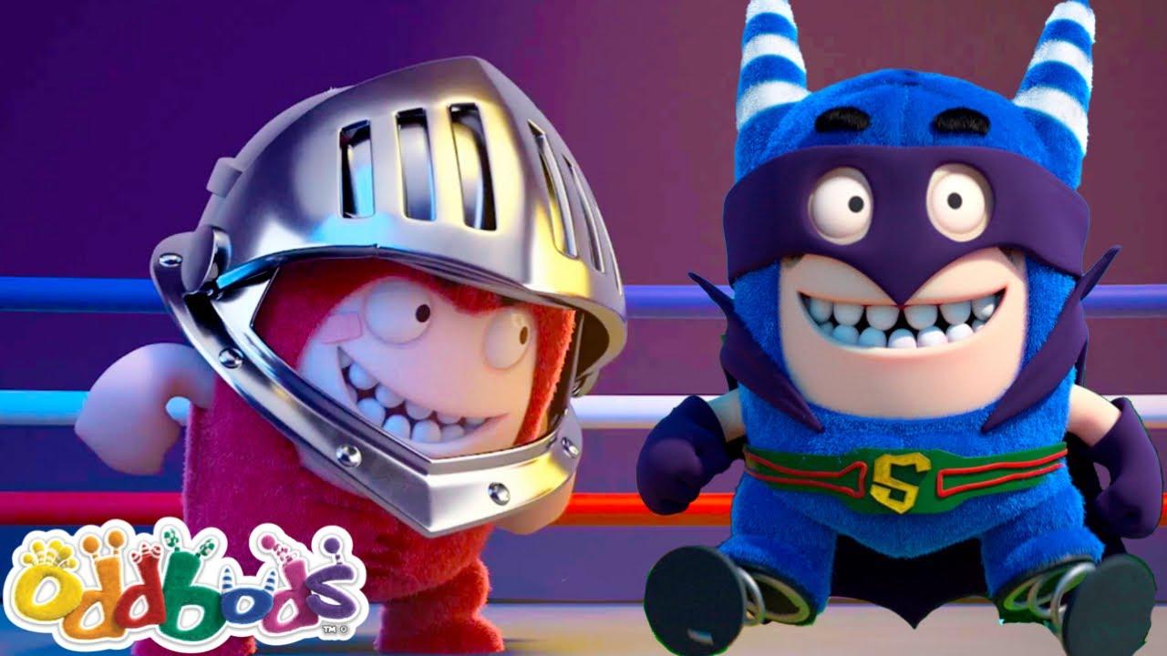 ODDBODS | The Super Odd League | Cartoons For Children