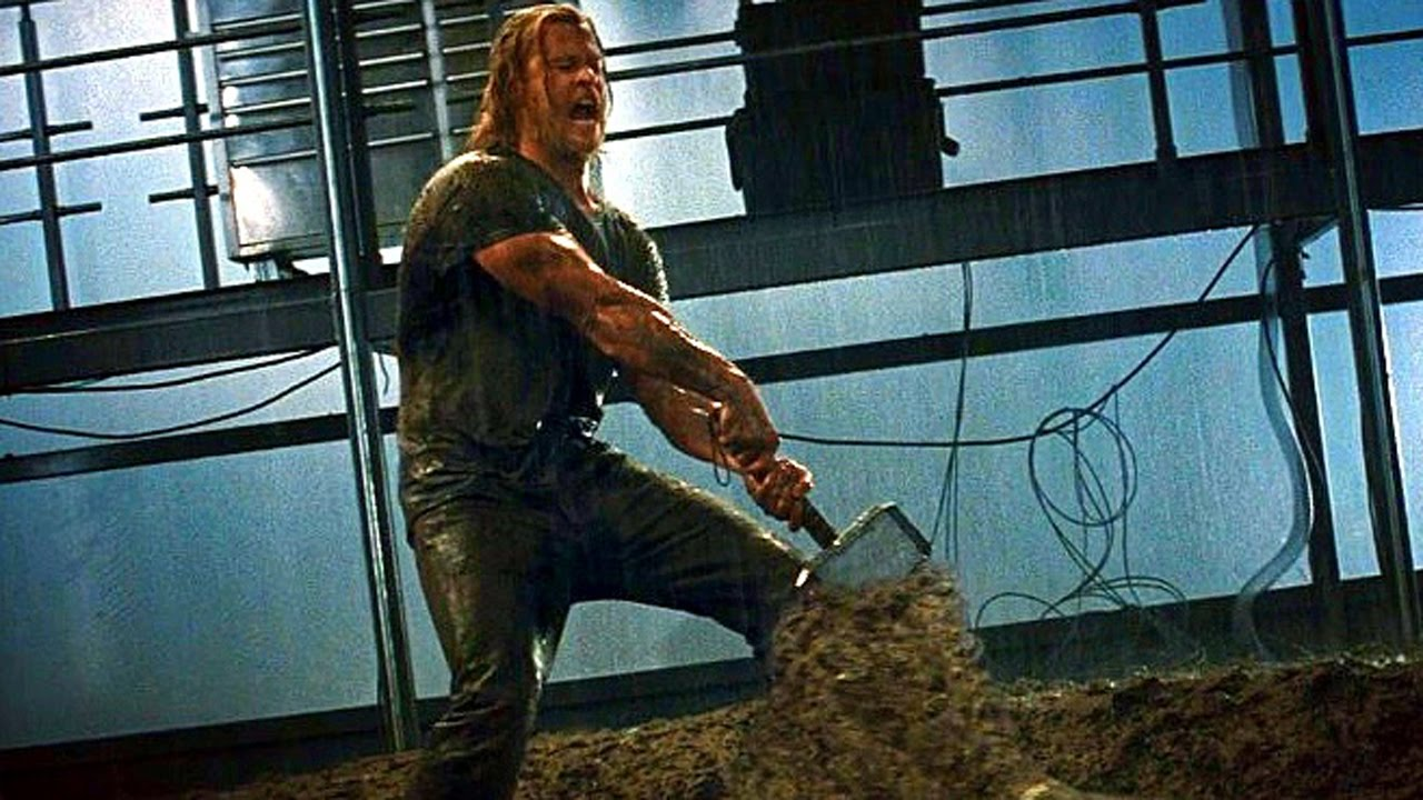 thor tries to lift his hammer scene movie clip hd youtube