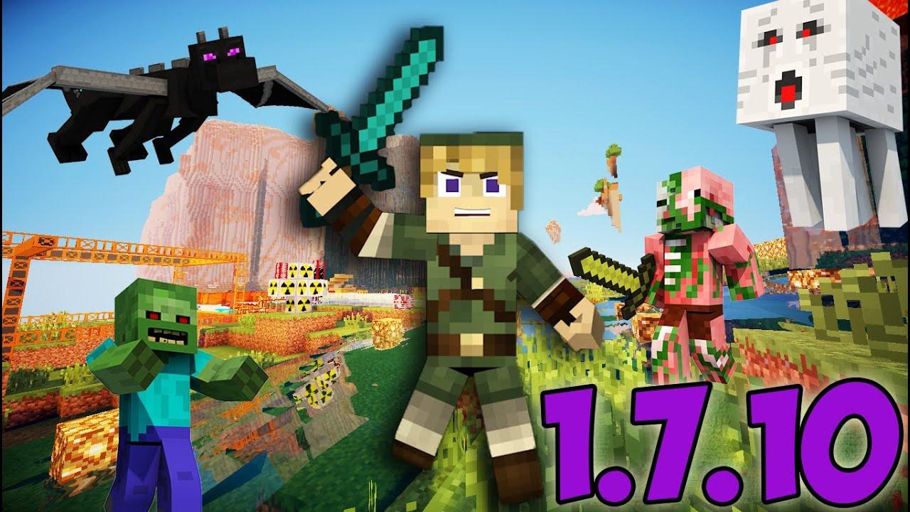 Сборка Шейдеров для Minecraft 1.7.10