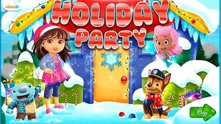 Nick Jr. Holiday Party - Character Adventure Game - Dora the Explorer games