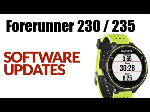 How To Update Garmin >> How To Update Software On The Garmin Forerunner 230 235 Feature Review
