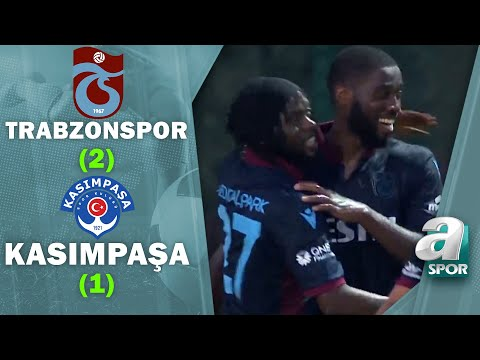 Trabzonspor 2 -1 Kasımpaşa | Hazırlık Maçı | 26.07.2021