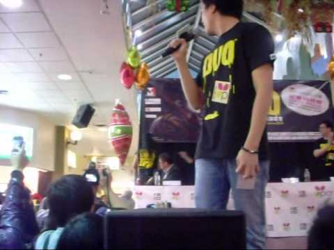Eason Chan @ Parker Place for DUO press conference Part 1