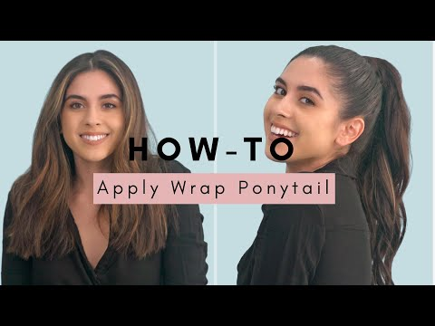How-to Apply a Ponytail Extension by The Hair Shop thumbnail