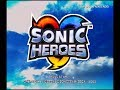 Sonic Heroes Playthrough ~Longplay~