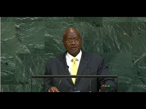 Uganda - President addresses the 72nd United Nations General Assembly