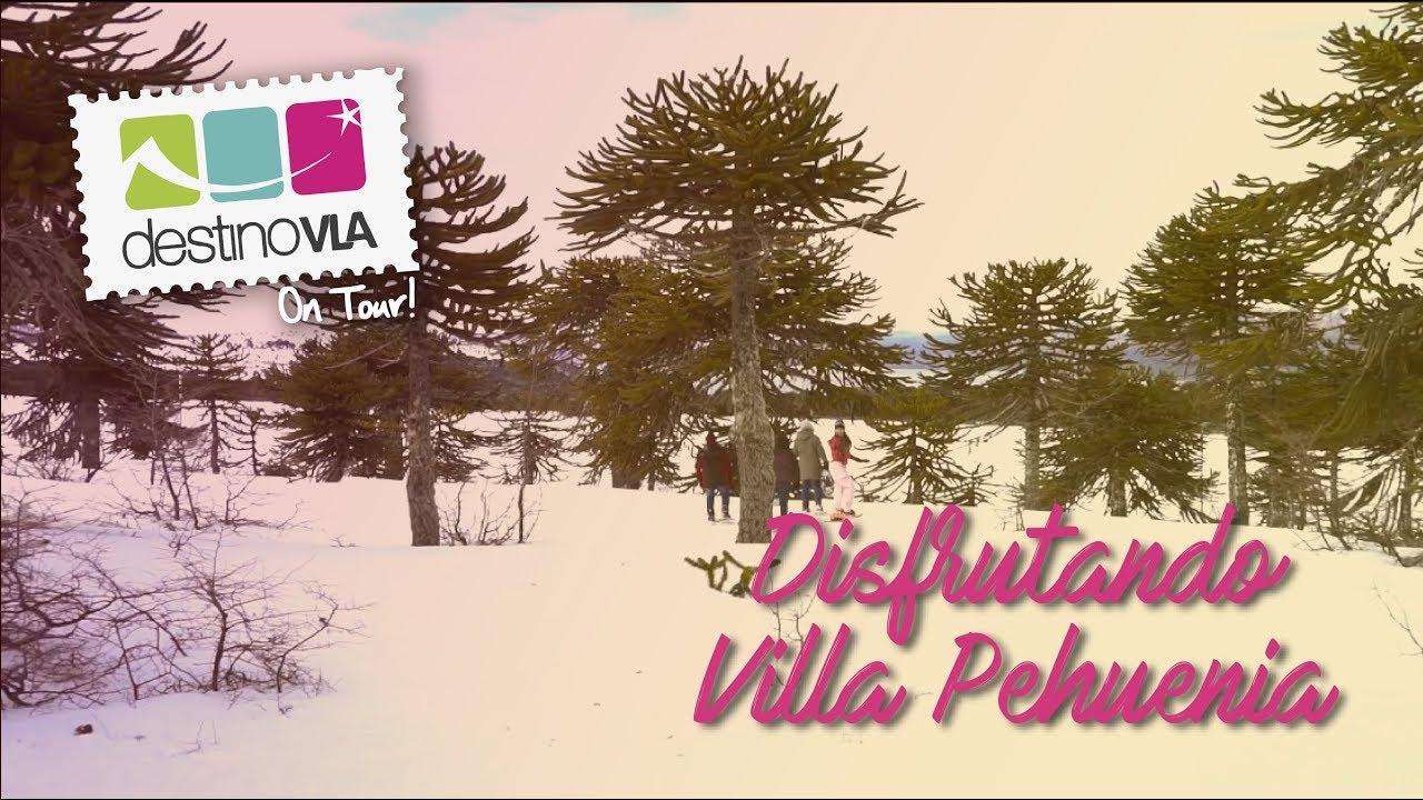 Destino VLA On Tour! en Villa Pehuenia - Provincia de Neuquén