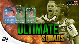 ULTIMATE SQUADS GERMANY WORLD CUP FINAL TEAM FIFA 14 Ultimate Team