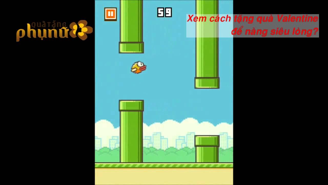 Những mẹo chơi game Flappy Bird để được điểm số cao? Làm thế nào được điểm cao game Flappy Bird